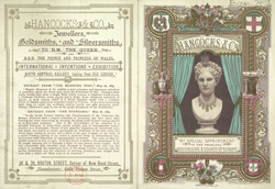 Advert For Hancocks & Co.'s Jewellers, Goldsmiths and Silversmiths